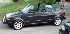 Cabriolet - 1985 Volkswagen Cabriolet